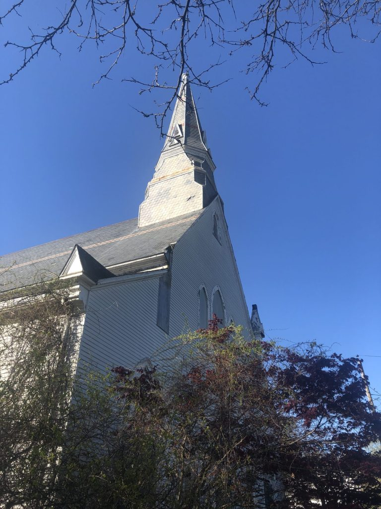 sacred heart church, Natick