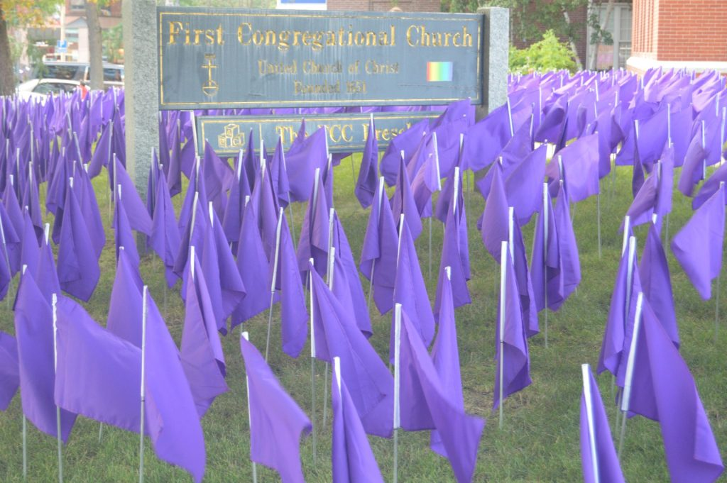 opioid purple flags first congregational church