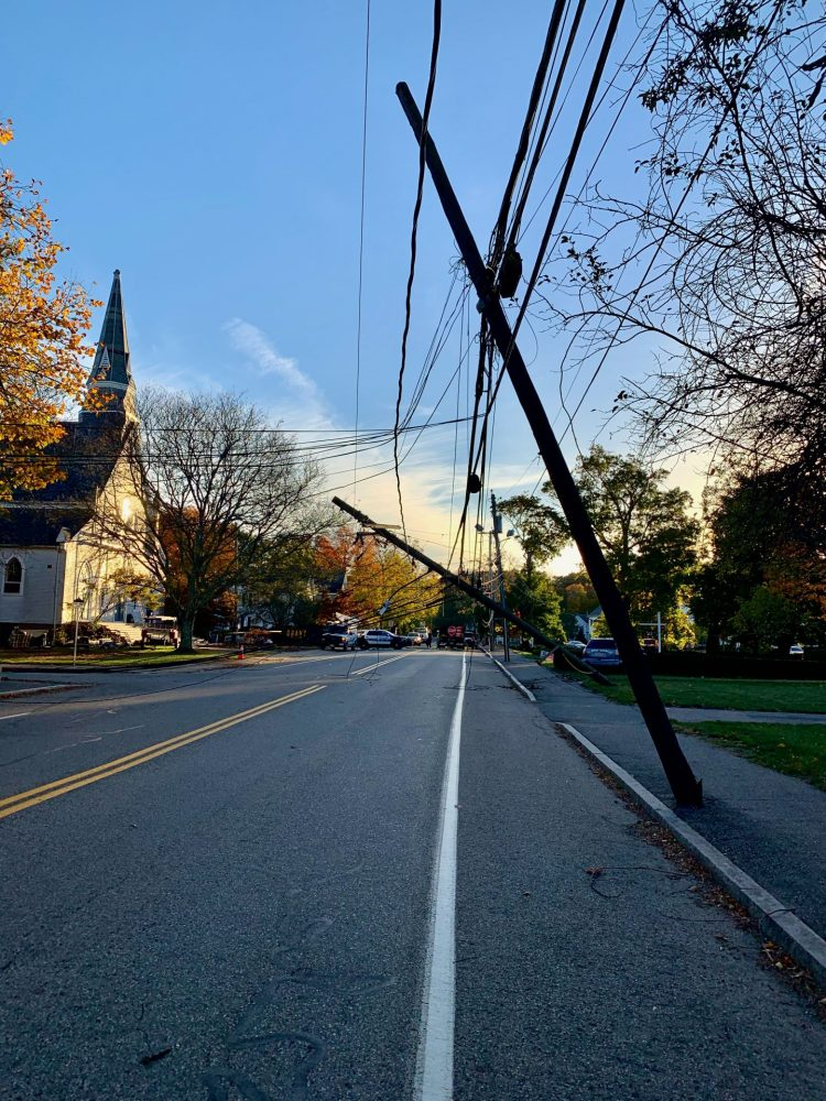 south natick accident power loss