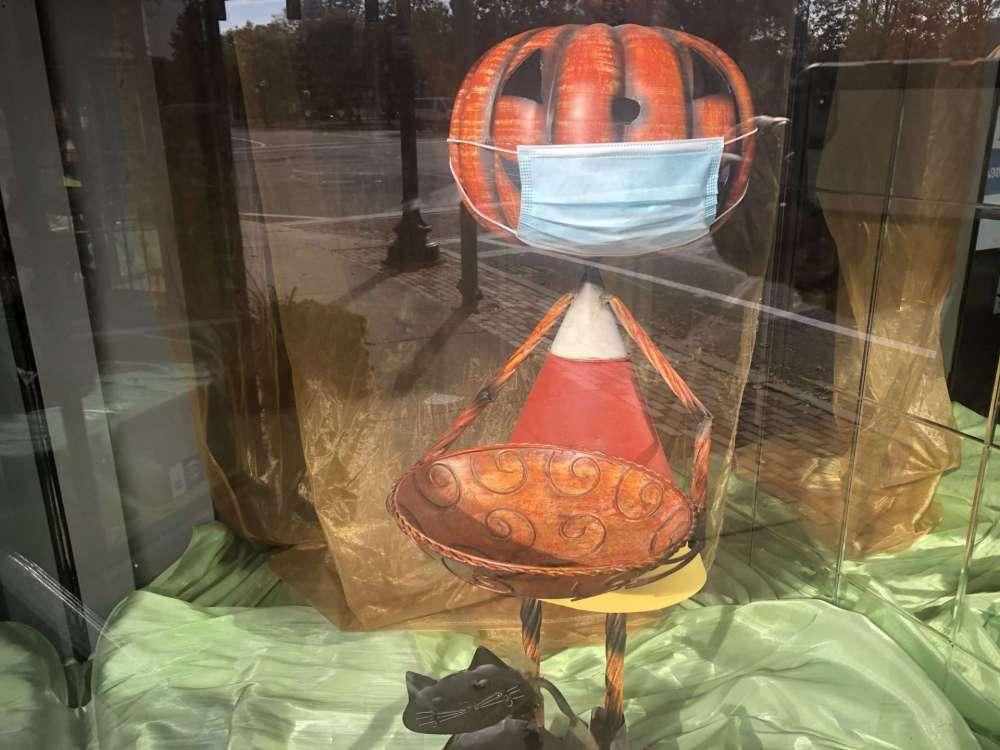 natick store masked pumpkin