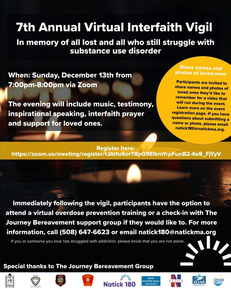 Natick Interfaith Vigil