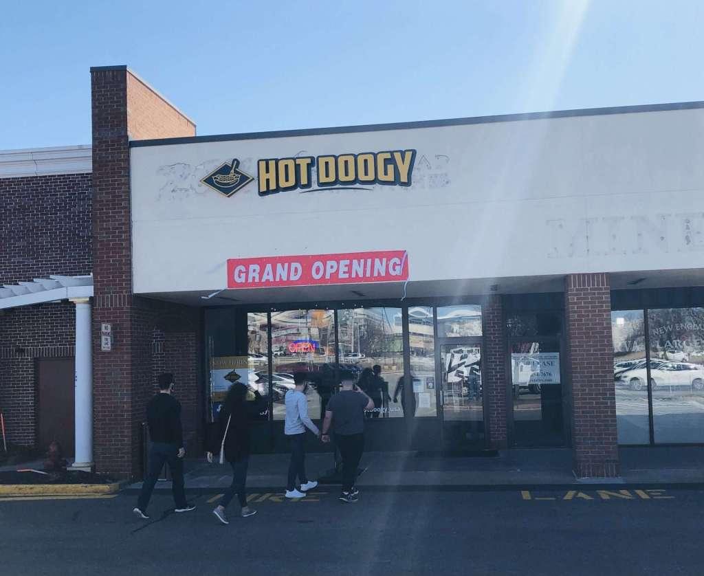 Hot doogy grand opening