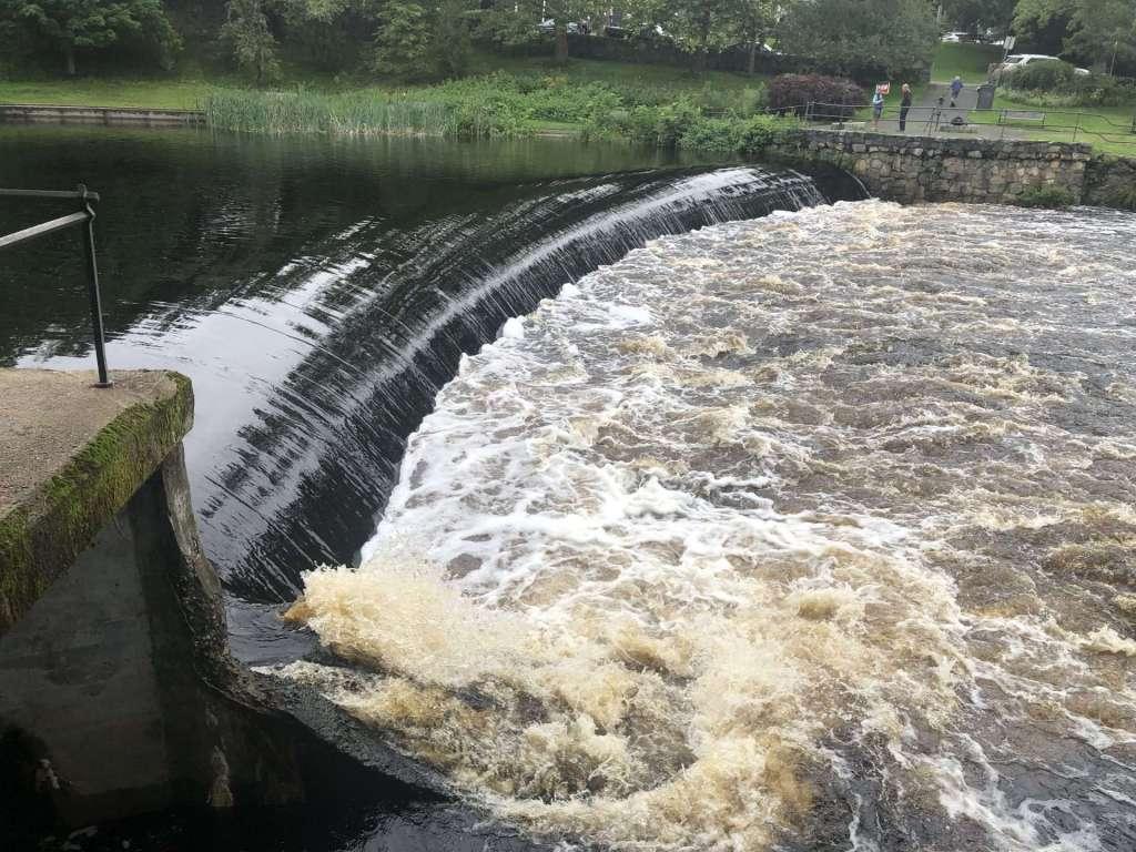 South Natick dam flooding