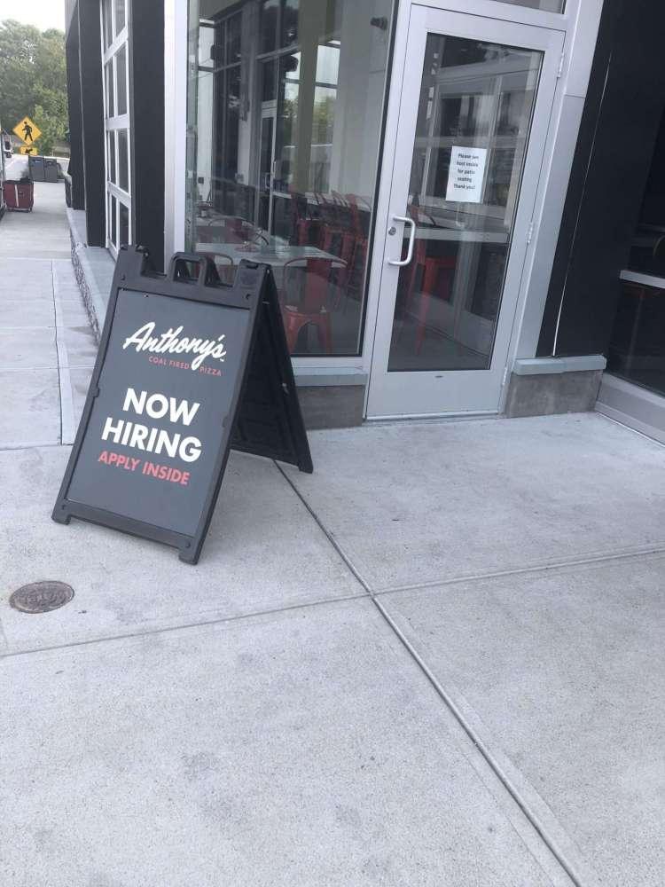 anthony's hiring