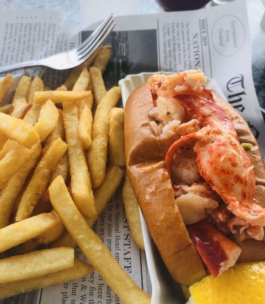 block island lobster roll
