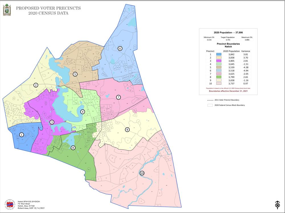 natick precincts