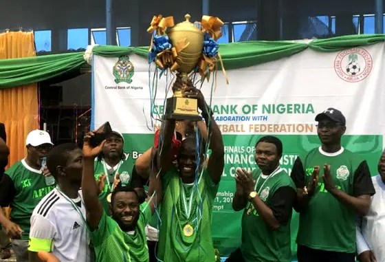 SEC wins 2021 financial institution football tournament - National Accord  Newspaper
