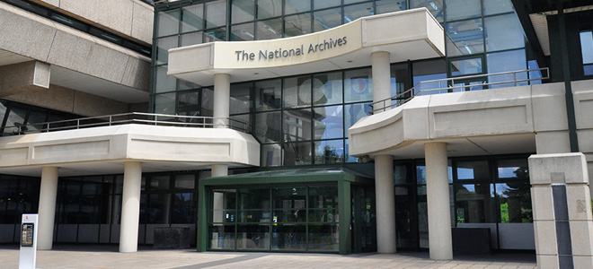 Image of The National Archives main building