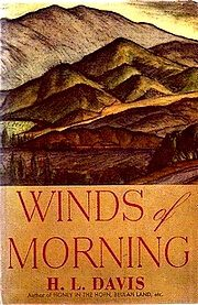 Cover of Winds of Morning by H. L. Davis