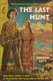 The Last Hunt by Milton Lott book cover