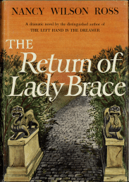cover of The return of lady brace by nancy wilson ross