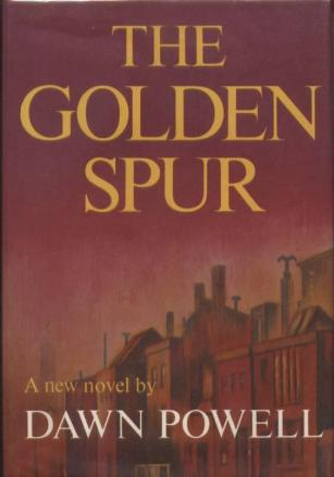 The Golden Spur by Dawn Powell book cover