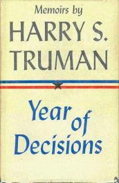 cover of Year of Decisions by Harry S Truman