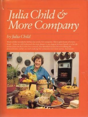 Book jacket for Julia Child & More Company