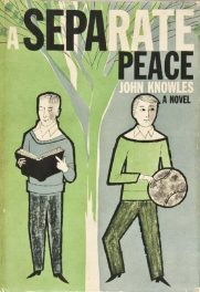 A Separate Peace by John Knowles book cover