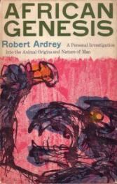 African Genesis by Robert Ardrey book cover