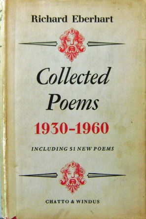 Collected Poems by Richard Eberhart book cover