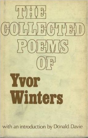 Collected Poems by yvor winters book cover