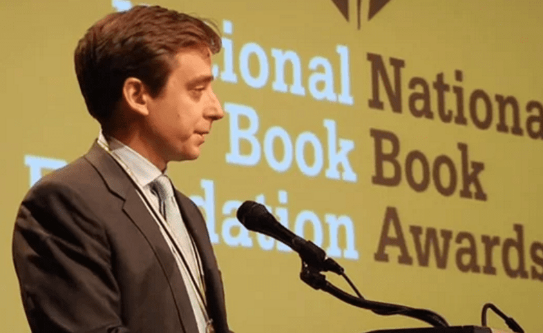 Evan Osnos reads from Age of Ambition at 2014 NBA Finalists Reading