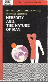 Heredity and the Nature of Man by Theodosius Dobzhansky book cover