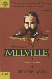 Paperback cover of Herman Melville by Newton Arvin