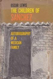 The Children of Sanchez by oscar lewis book cover
