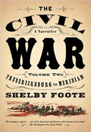 The Civil War, Vol II by shelby foote book cover