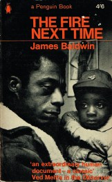 The Fire Next Time by James Baldwin book cover