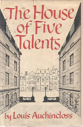 The House of Five Talents by Louis Auchincloss book cover