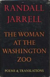 The Woman at the Washington Zoo by Randall Jarrell book cover