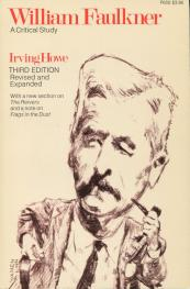 William Faulker by irving Howe book cover