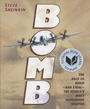 Stave Sheinkin's Bomb book cover