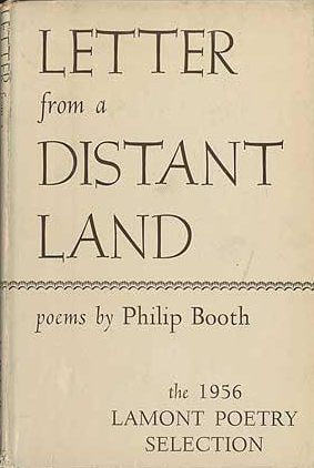 cover of Letter from a Distant Land by Philip Booth