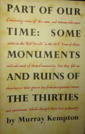 cover of Part of Our Time by Murray Kempton