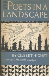 cover of Poets in a Landscape by Gilbert Highet