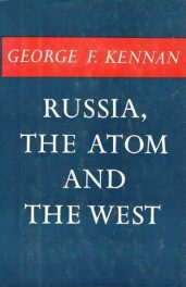 cover of Russia the Atom and the West by George F kennan