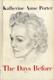 cover of The Days Before by Katherine Anne Porter