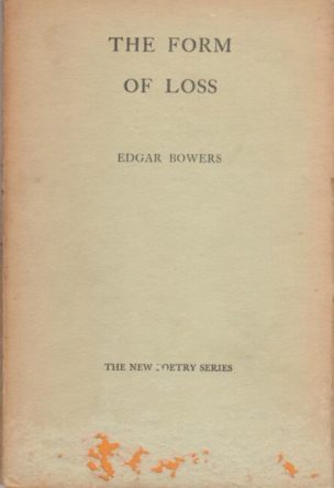 cover of The Form of Loss by Edgar Bower