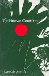 cover of The Human Condition by Hannah Arendt