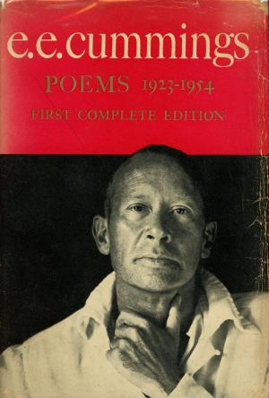 first edition cover of Poems 1923 1954 by e e cummings
