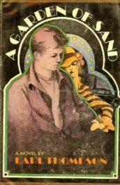 cover of A Garden of Sand by Earl Thompson