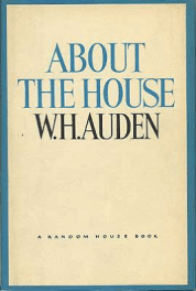About the House by W.H. Auden book cover