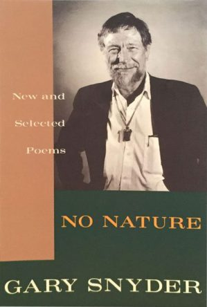 No Nature by Gary Snyder book cover