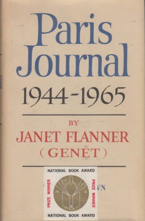 Paris Journal, 1944-1965 by Jane Flanner book cover