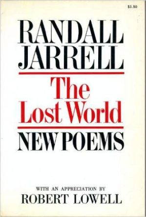 The Lost World by randall jarrell book cover