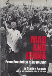 cover of Mao and China by Stanley Karnow