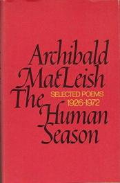 cover of The Human Season by Archibald MacLeish