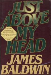 cover of Just Above My Head by James Baldwin