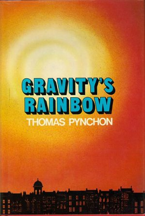 cover of Gravity's Rainbow by Thomas Pychon