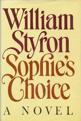 cover of Sophie's Choice by William Styron